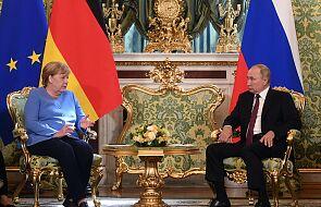 Merkel spotkała się z Putinem. Rozmawiali o bliskim ukończeniu Nord Stream 2