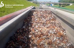 Zatrzymany transport 25 ton nielegalnych odpadów