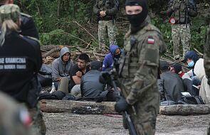 SG: osoby koczujące na polsko-białoruskiej granicy nie chcą opuścić tego miejsca