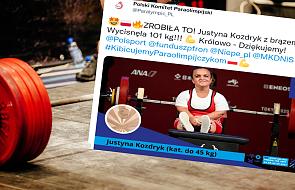 """Justyna Kozdryk z medalem w Tokio. """"Od Boga dostajemy coś, co trzeba wykorzystać jako dar"""""""