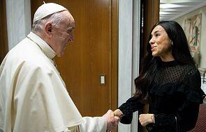 Papież spotkał się z Nadią Murad