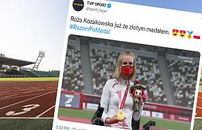 """Róża Kozakowska zdobyła złoty medal na paraolimpiadzie. """"Prosiłam Boga, by mnie zabrał z tego świata"""""""