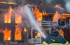 Toruń: wybuch w domu jednorodzinnym. Budynek zawalił się
