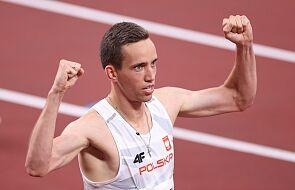Patryk Dobek został brązowym medalistą w biegu na 800 m