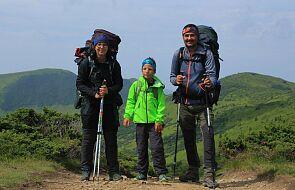 100 km po górach na Ukrainie? Niepełnosprawny Miłosz pokonał trasę z rodzicami