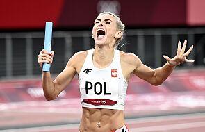 Polska sztafeta kobiet 4x400 m zdobyła srebrny medal