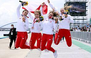 Polscy olimpijczycy wrócili do kraju. Na lotnisku powitali ich kibice