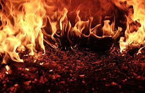 """Mocne słowa biskupa: sprawcy pożarów są """"poza Kościołem"""""""