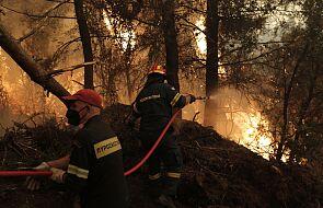 Polscy strażacy są już w Grecji; będą pomagać w gaszeniu pożarów