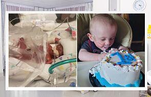 Urodził się w piątym miesiącu. Miał zero szans na przeżycie. Dziś chłopiec skończył właśnie rok
