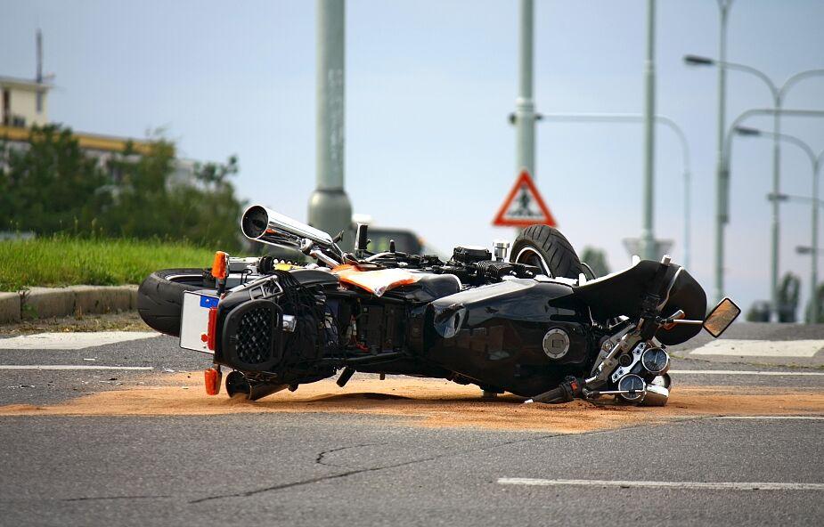Śmiertelny wypadek motocyklisty w Żaganiu
