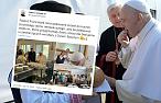 Papież po raz kolejny zaskakuje. Osobiście podziękował za smaczny obiad