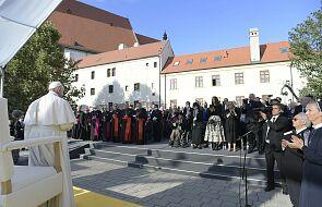 Papież spotkał się z premierem i przewodniczącym parlamentu Słowacji