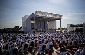 Papież Franciszek modlił się przy ekologicznym ołtarzu