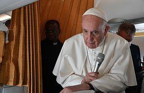 """Papież Franciszek: """"nigdy nikomu nie odmówiłem Eucharystii"""""""