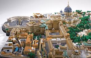 Zbudował Watykan z 67 tys. klocków Lego podczas pandemii