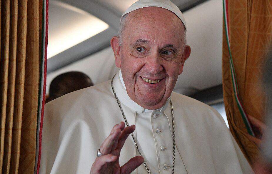 Papież: jestem trochę stary i trochę chory, ale nie bardzo