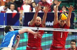ME siatkarzy - Polacy przegrali trzeciego seta półfinału ze Słoweńcami, w meczu 1:2