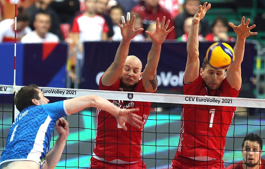 Polscy siatkarze przegrali mecz ze Słoweńcami 1:3