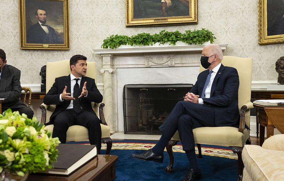 Ukraińskie media o wizycie Zełenskiego w USA: brak przełomu