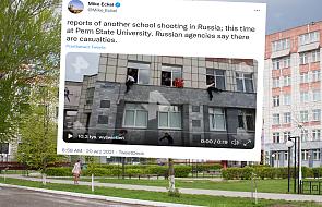 Strzelanina na uniwersytecie w Permie. Studenci skakali z okien