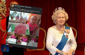Dziewczynka z zespołem Downa maluje obrazy. Jeden z nich podarowała królowej Elżbiecie II
