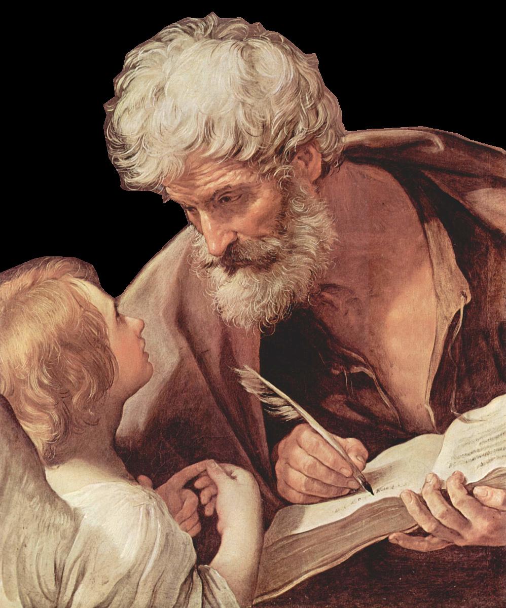 Św. Mateusz ewangelista - Hakjosef, CC BY-SA 4.0 www.creativecommons.org, via Wikimedia Commons