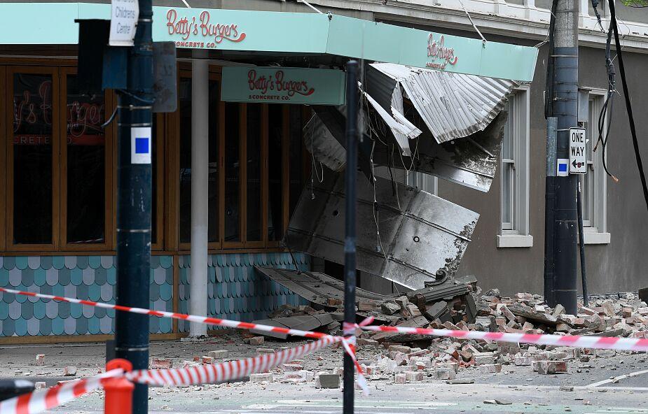 Silne trzęsienie ziemi nawiedziło Australię