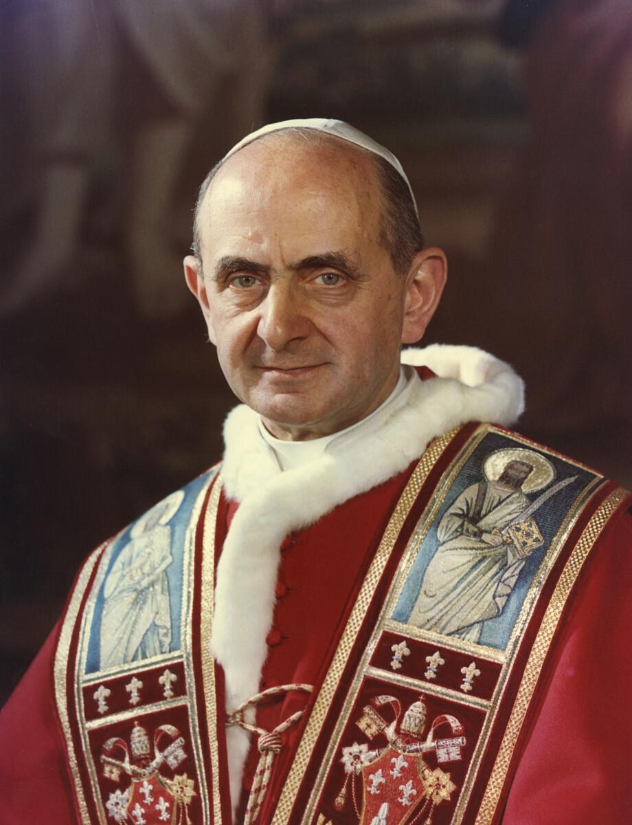 Św. Paweł VI - Fotografia Felici, Public domain, via Wikimedia Commons