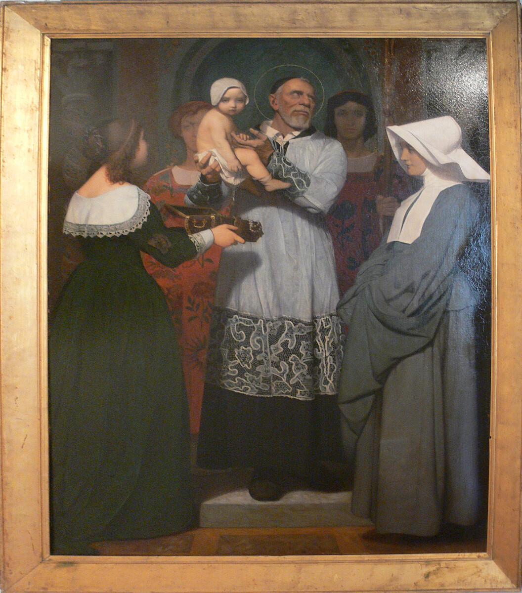 Św. Wincent de Paul - Jean-Léon Gérôme, Public domain, via Wikimedia Commons