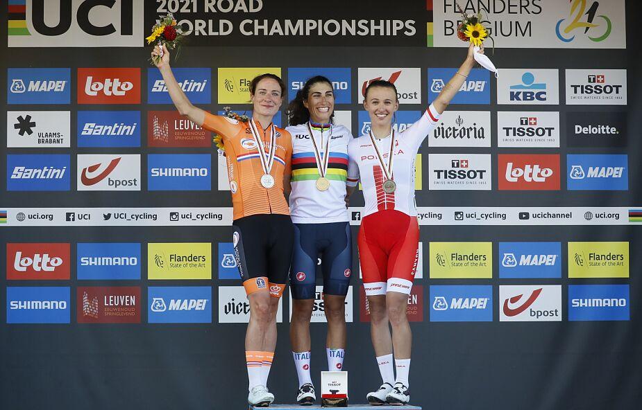 MŚ w kolarstwie. Brązowy medal Katarzyny Niewiadomej