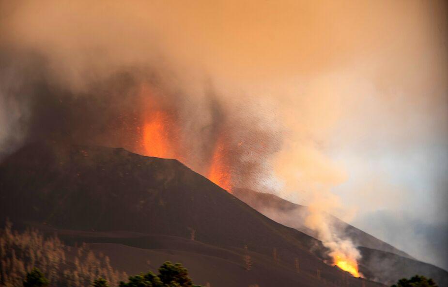 """Hiszpania. """"Negacjoniści"""" wulkanu - nowe zjawisko w sieci. Co mają wspólnego z COVID-19?"""