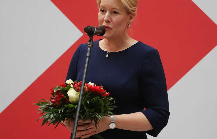 Niemcy: będzie burmistrzem Berlina; z powodu skandalu musiała odejść z rządu RFN