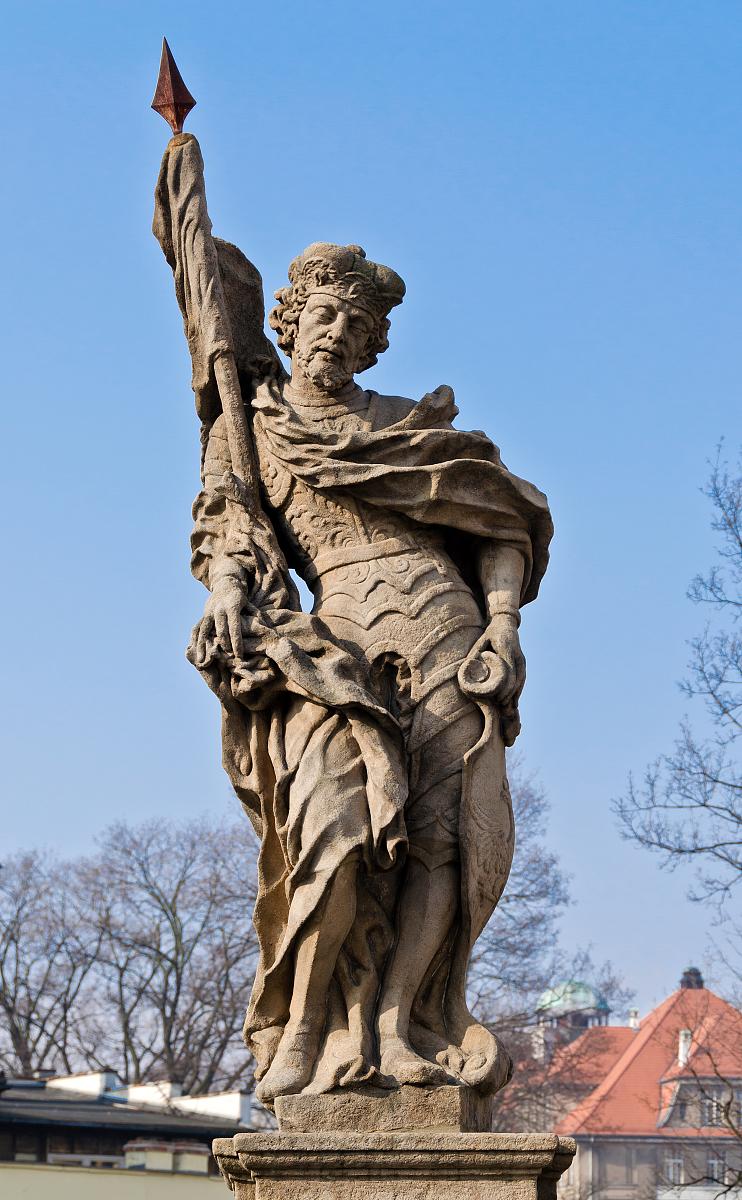 Posąg św. Wacława w Kłodzku - Jacek Halicki, CC BY-SA 3.0 PL www.creativecommons.org, via Wikimedia Commons