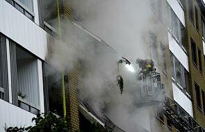 Szwecja: eksplozja w budynku w Goeteborgu. 23 osoby ranne