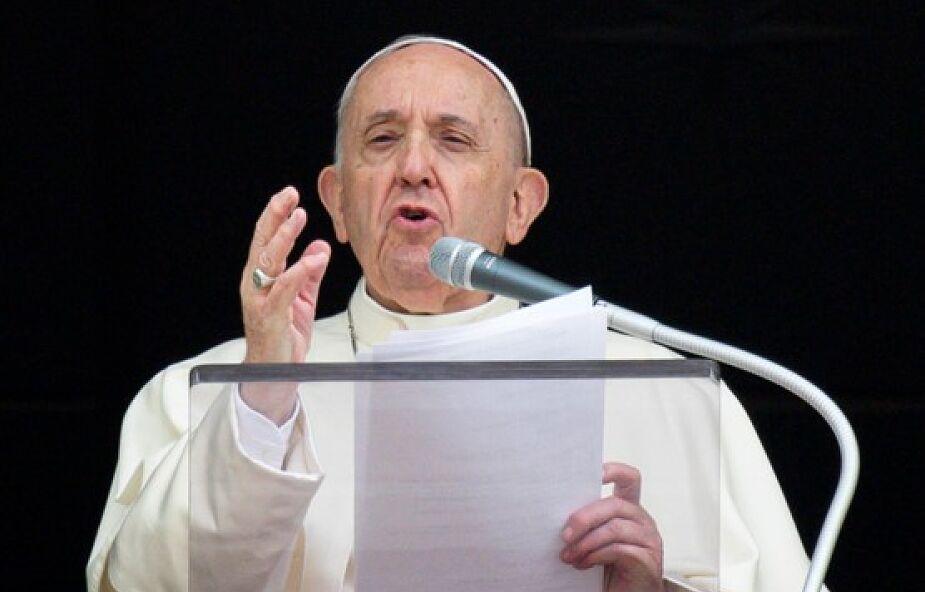 Papież Franciszek apeluje do chrześcijan o budowanie braterstwa