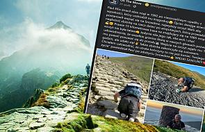 Nie mając nóg wspiął się na najwyższy szczyt Walii. Tym czynem wsparł dzieci