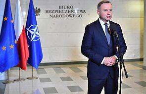 Andrzej Duda: wystąpię do Sejmu, aby wyraził zgodę na przedłużenie stanu wyjątkowego