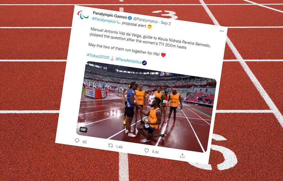 Oświadczył się na paraolimpiadzie. Niezwykła historia dwójki sportowców