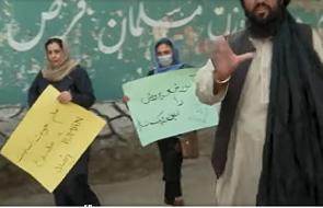 Afganistan: protestowały przed szkołą. Talibowie rozpędzili je strzałami