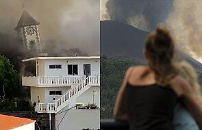 La Palma: lawa z wulkanu zniszczyła kościół, nad wyspą unosi się toksyczna chmura