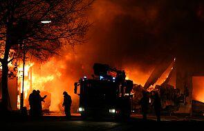 Pożar zabytkowego kościoła w Kijowie. Władze obiecuję, że zostanie odremontoany