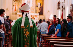 Austria: biskup wspiął się na 30-metrową wieżę kościelną