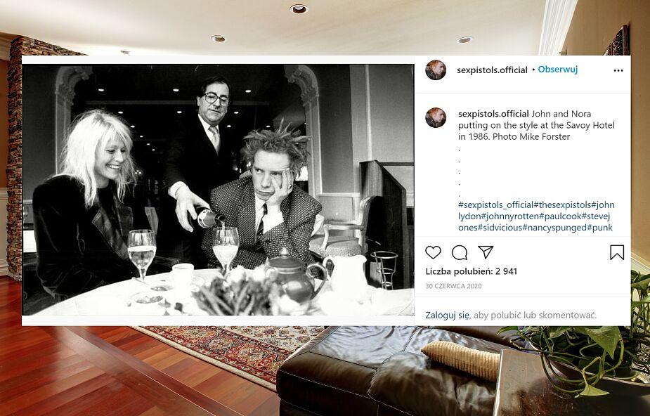 Wokalista Sex Pistols o żonie chorej na Alzheimera: Nie opuszczę jej