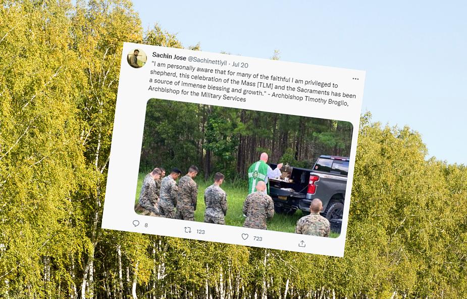Zaatakowali polskich żołnierzy po zobaczeniu zdjęcia. Okazało się, że to fake news