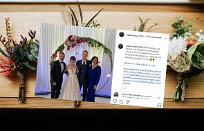 Córka Adama Małysza wzięła ślub. Para dostała m.in. talon na mieszkanie