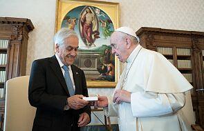 Papież spotkał się z prezydentem Chile